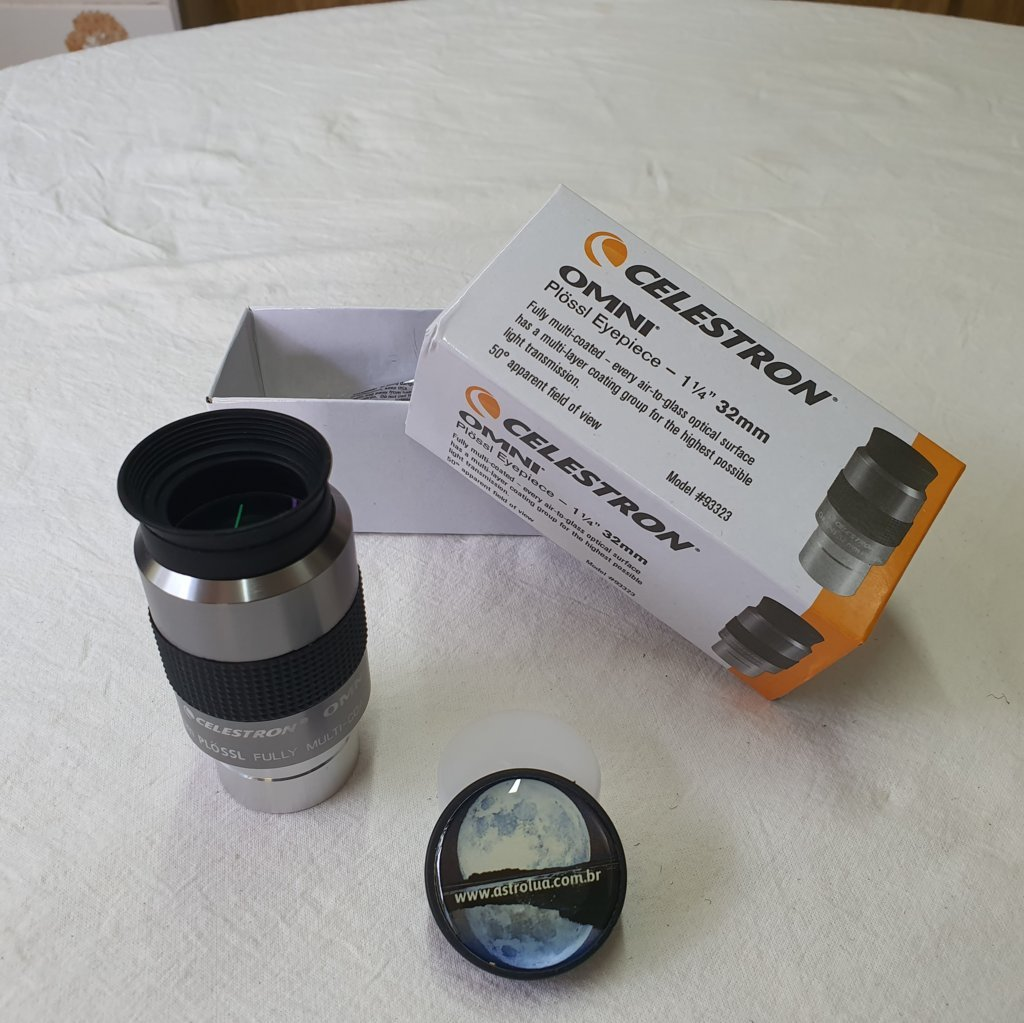 "Ocular 32mm - 1,25""  50º - Omni Super Plossl - CELESTRON"