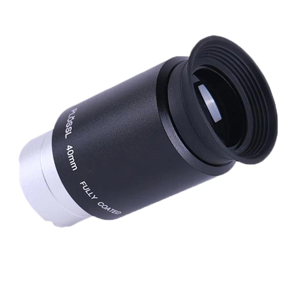 "Ocular 40mm 1,25"" - Super Plossl  48º AFOV - Blue Glass Coatings - ANTARES"