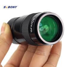 """Ocular 40mm 4 Elementos Ópticos - Super Plossl - 1,25"""" - SVBONY"""