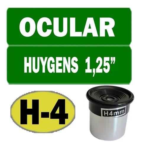 "Ocular 4mm 1,25"" - Modelo H4mm - HUYGENS"
