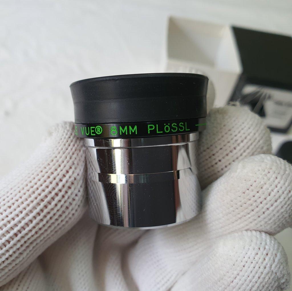 """Ocular 8mm 1,25"""" - Plossl - 50º - TELE VUE"""