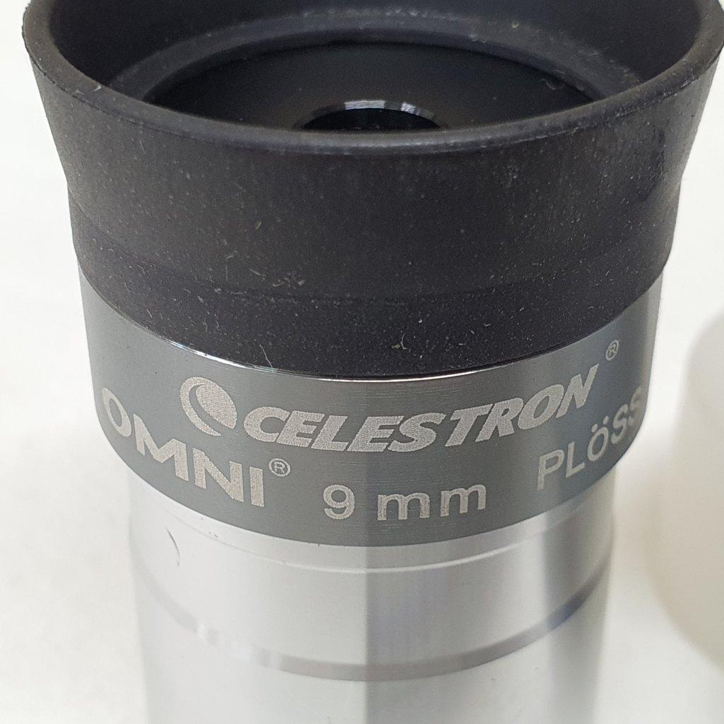 "Ocular 9mm - 1,25"" Série Silver - Omni Super Plossl - CELESTRON"
