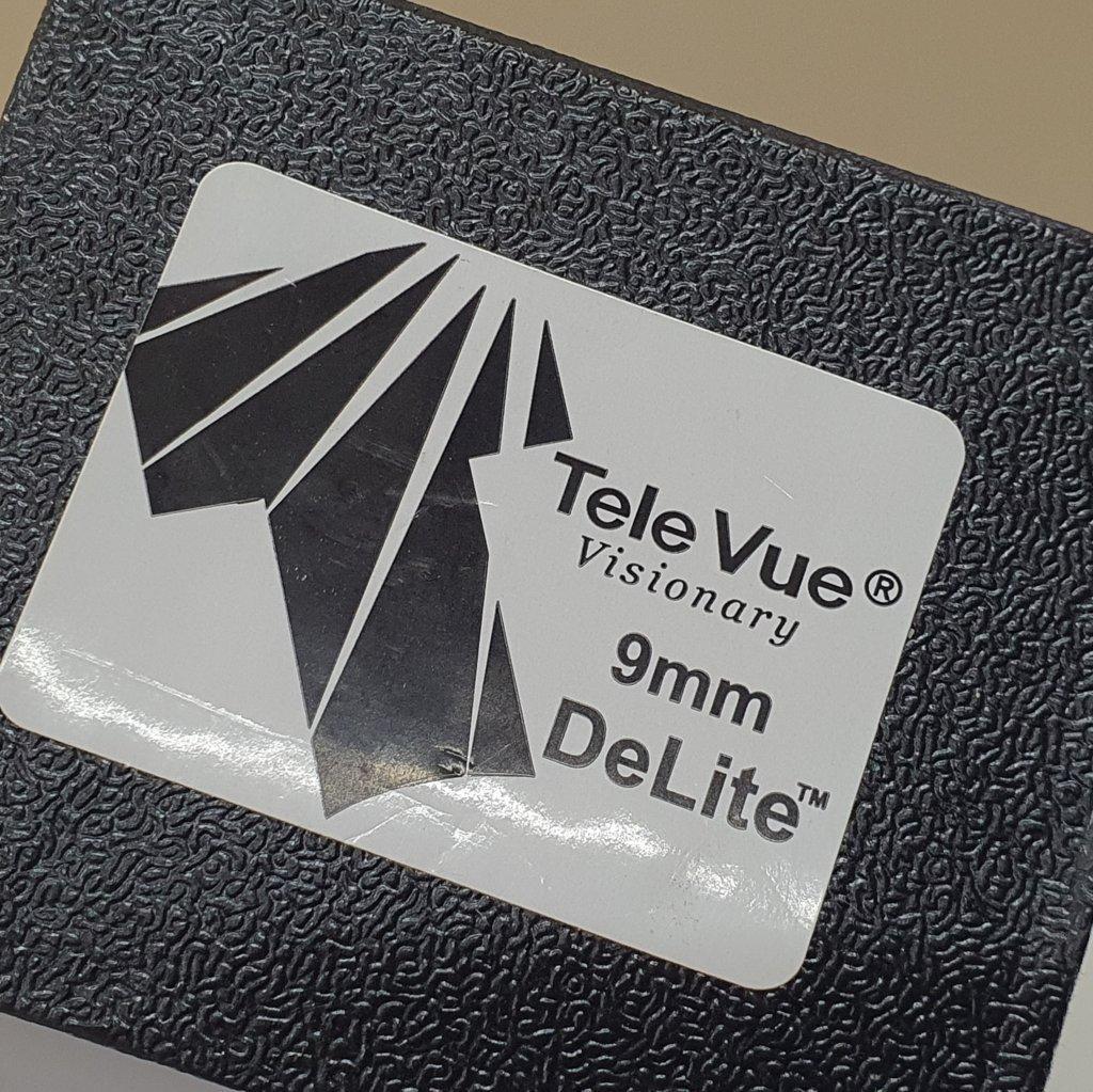 """Ocular 9mm Super Wide Angle DeLite Series - 1,25"""" TELE VUE"""
