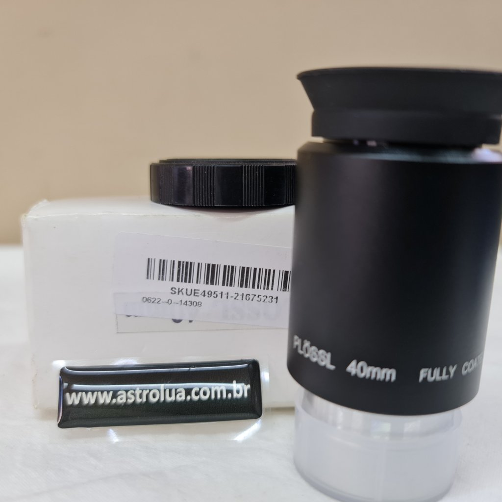 """Ocular de 40mm - 1,25""""  44º de Campo - Super PLossl"""