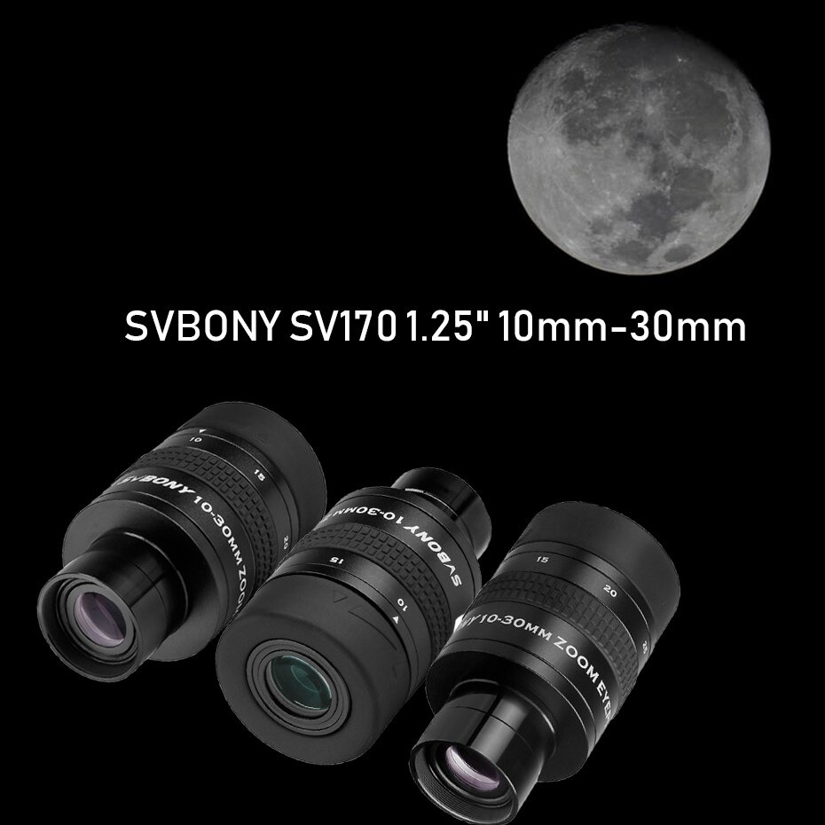 "Ocular Zoom 1,25"" de 10 a 30mm Modelo SV170 - SVBONY"