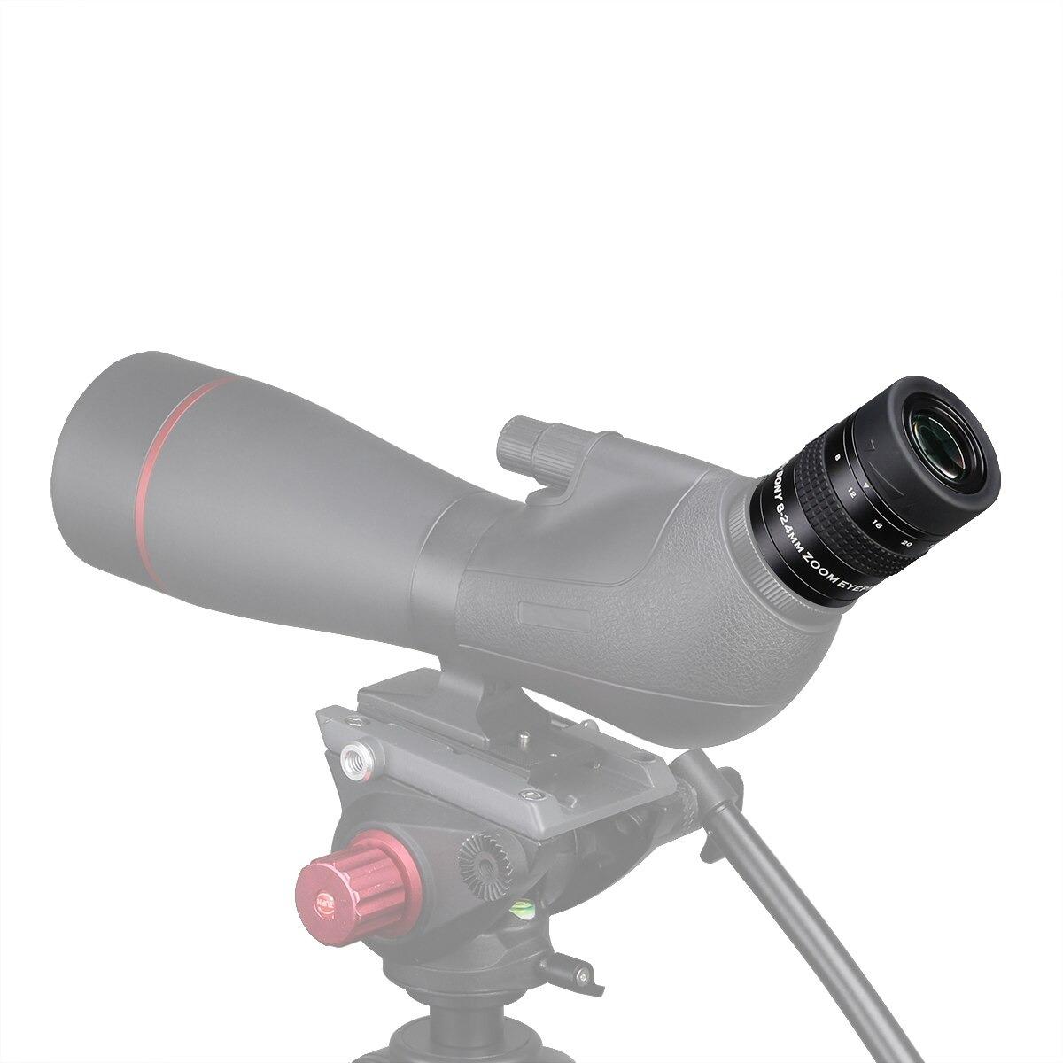 "Ocular Zoom 1,25"" de 8 a 24mm - Modelo SV171 - SVBONY"