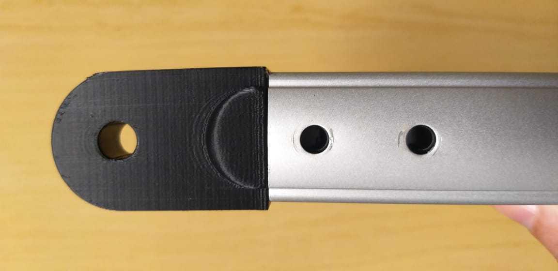Ombro para tripés de alumínio EQ2 - AZ3 etc - ASTROLUA