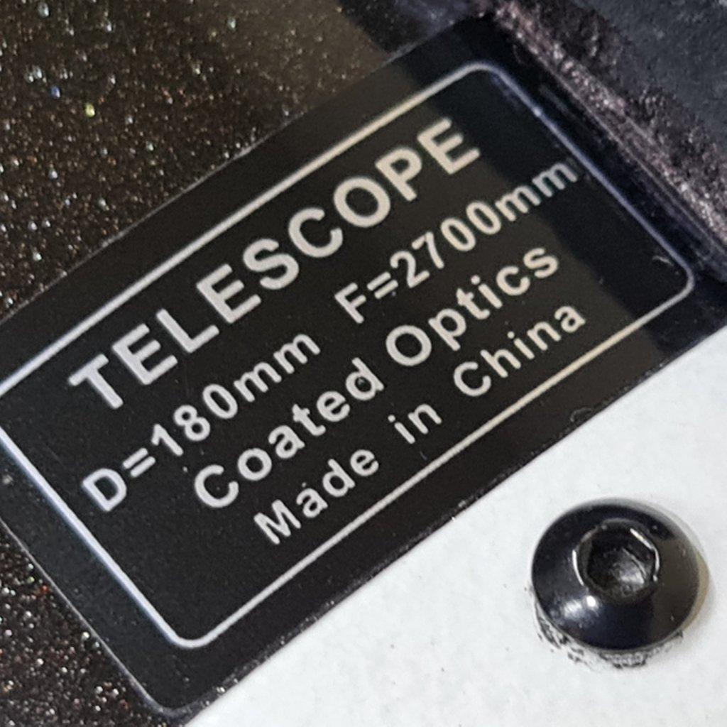 OTA - 180mm f/15.0  Maksutov Cassegrain - Optical Glass - SKY-WATCHER
