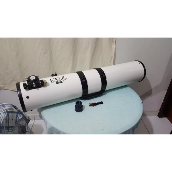 OTA - Refletor Newtoniano 200mm F6 - Modelo VX8L Inglês - Espelho Hilux - ORION
