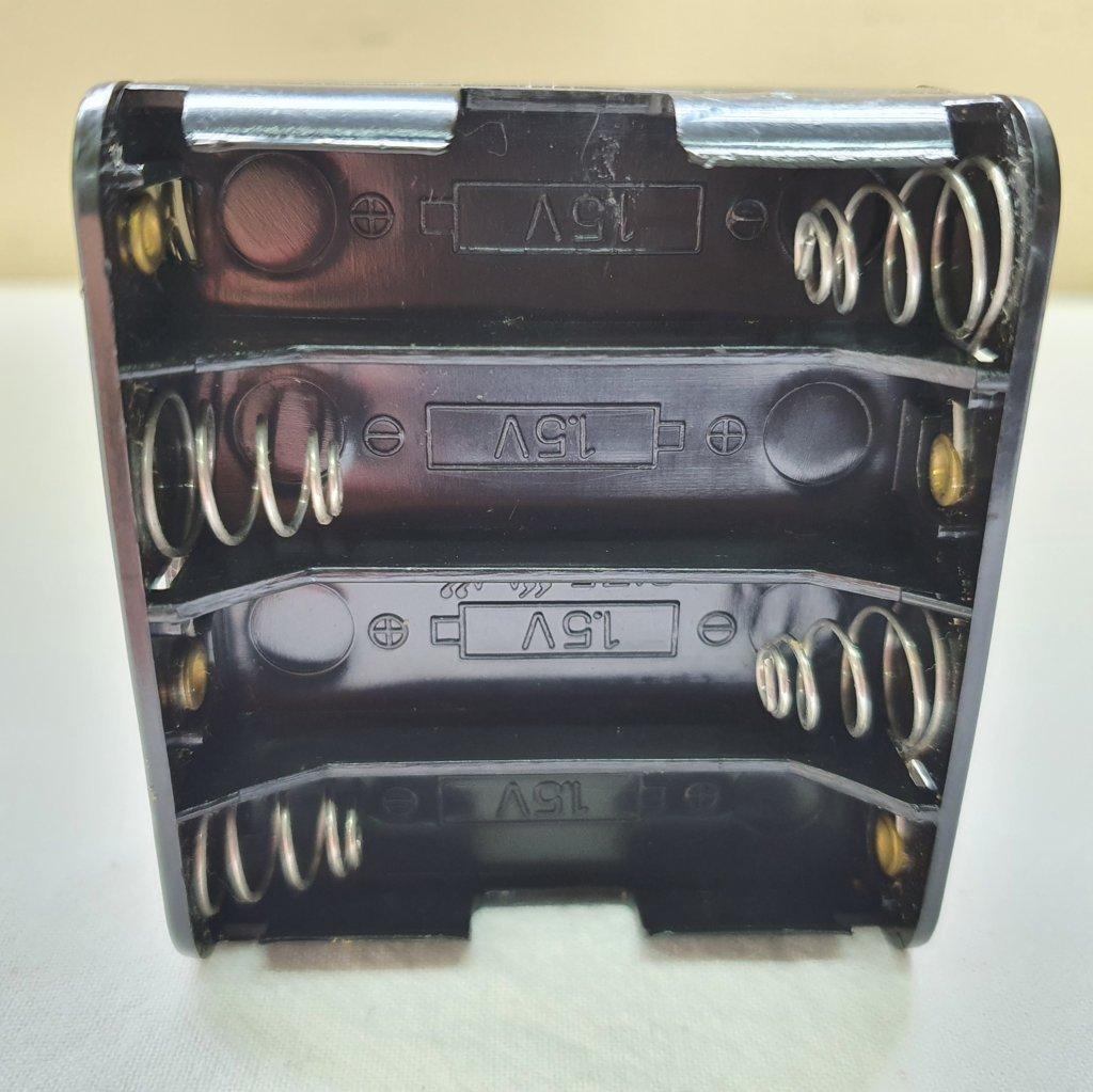 Porta Pilha AA 8un até 12V - p/ Montagens uso Externo - ASTROLUA