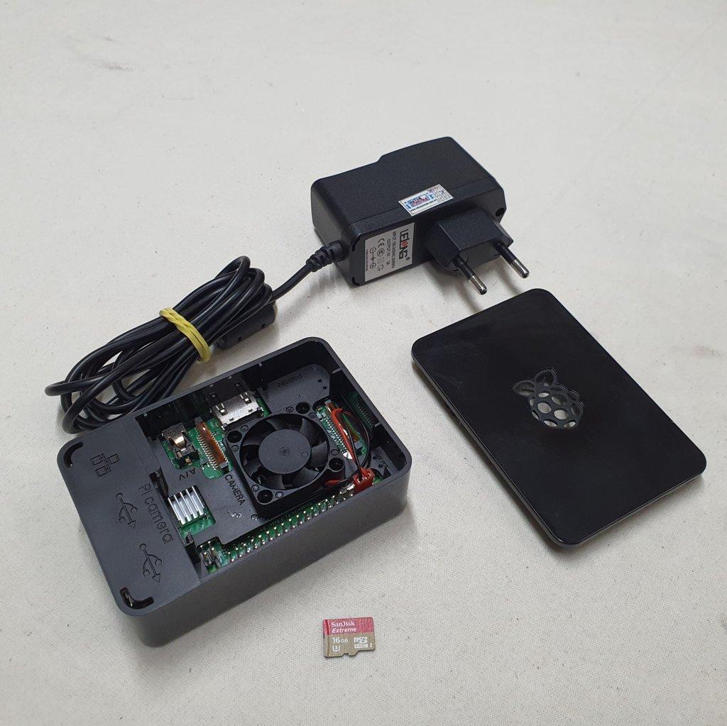 Rapsberry Pi 3 - Model B+  Cartão 16Gb