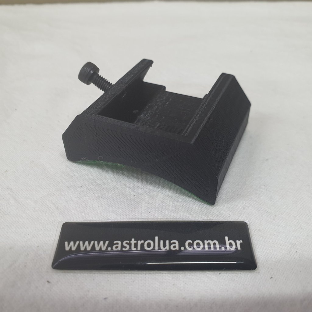 Sapata Cauda de Andorinha Preta 3D ABS c/ Dupla Face - ASTROLUA