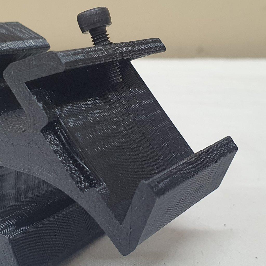 Sapata Dual Finder Cauda de Andorinha 3D - ABS - ASTROLUA