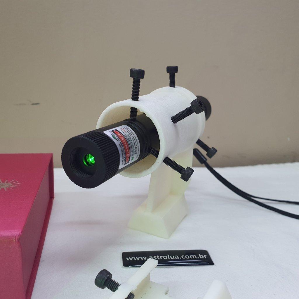 Super Laser + Suporte c/ Ajuste + Sapata Dupla Face - KIT OFF WHITE