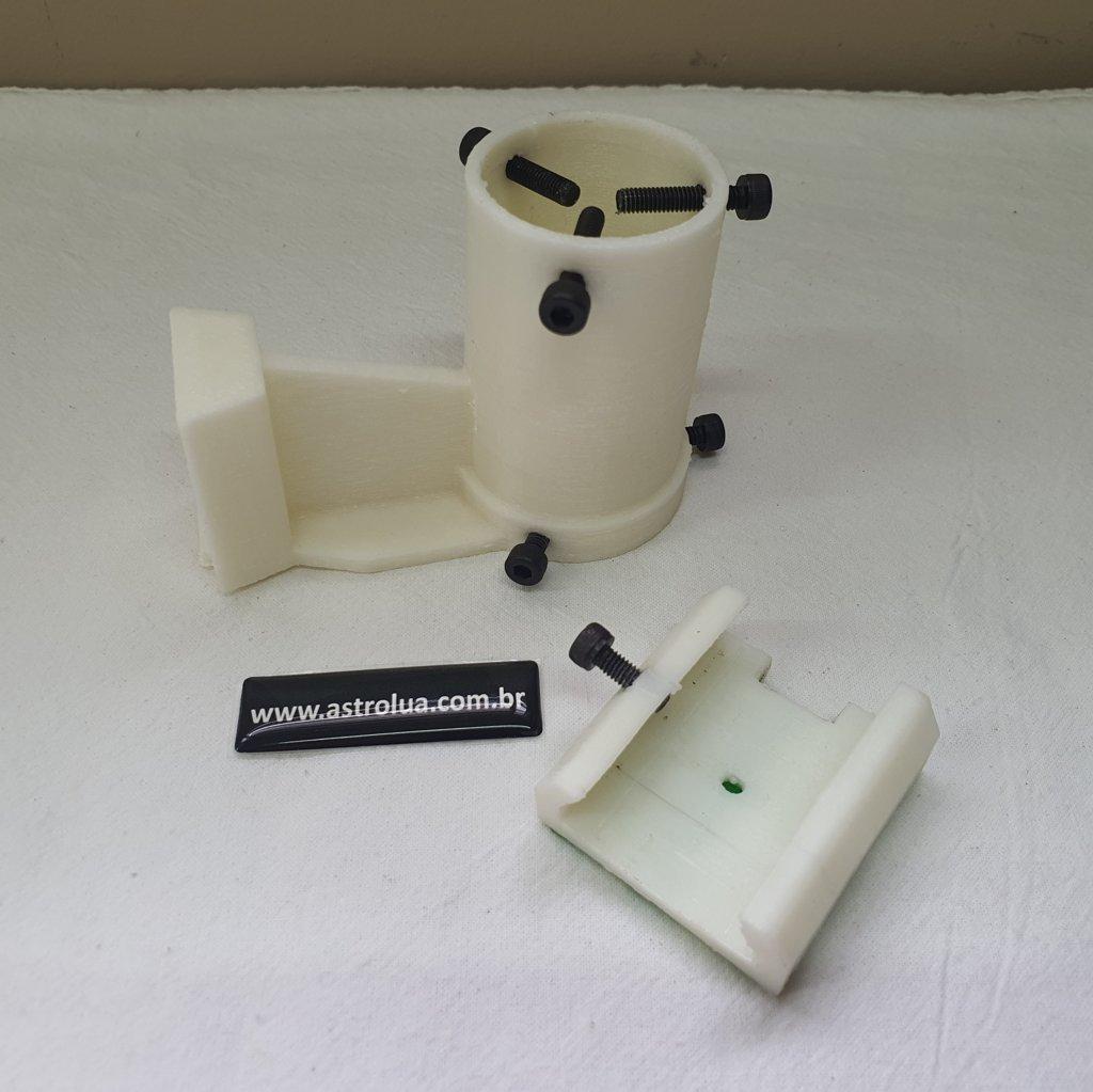 Suporte com Sapata para Laser Verde Apontador - OFF WHITE