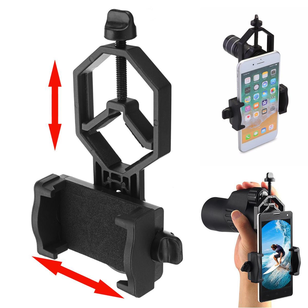 Suporte de Smartphone para Binóculos, Telescópios, Lunetas, etc
