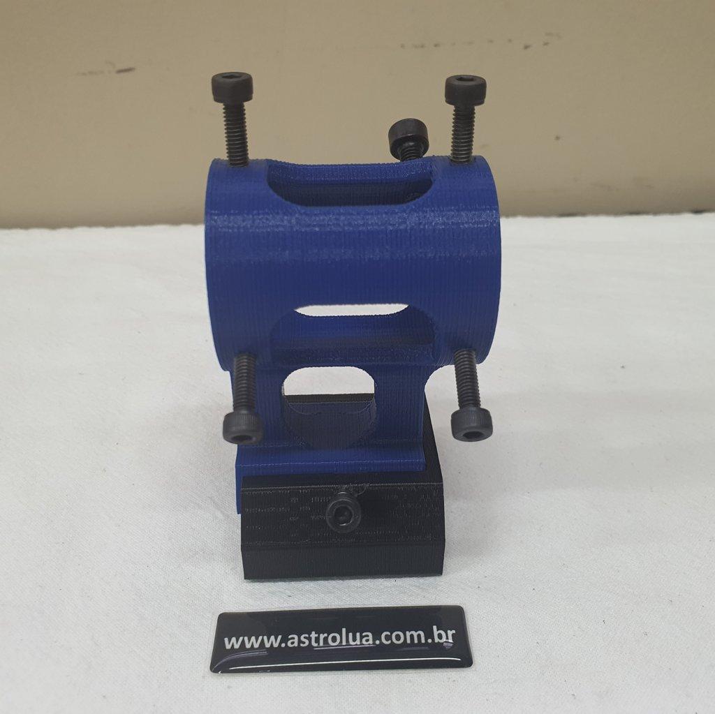 Suporte Laser Verde com Sapata 3M - Blue ABS 3D - ASTROLUA