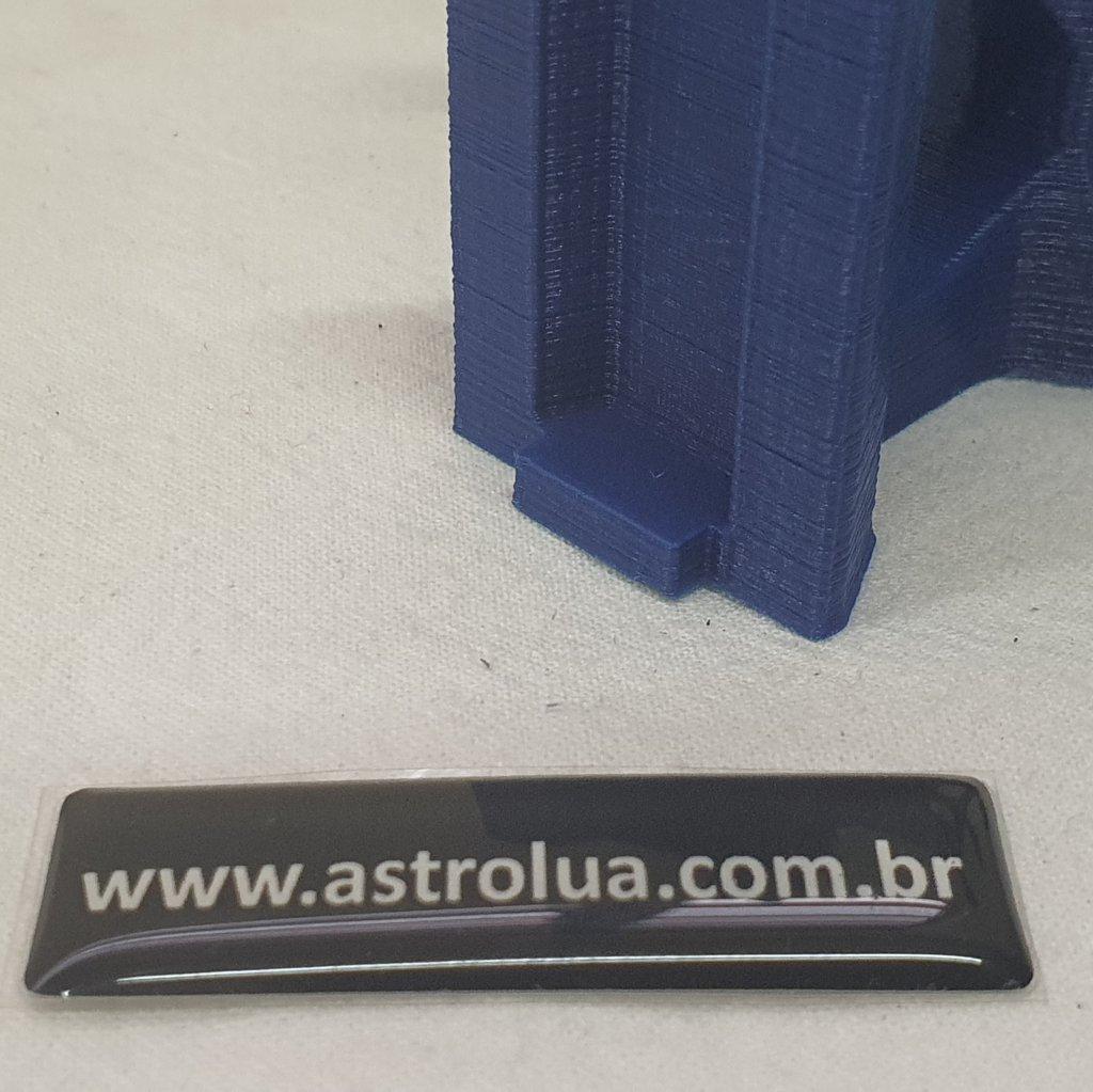 Suporte para Laser Verde - ABS 3D - Liga/Desliga - Blue - ASTROLUA