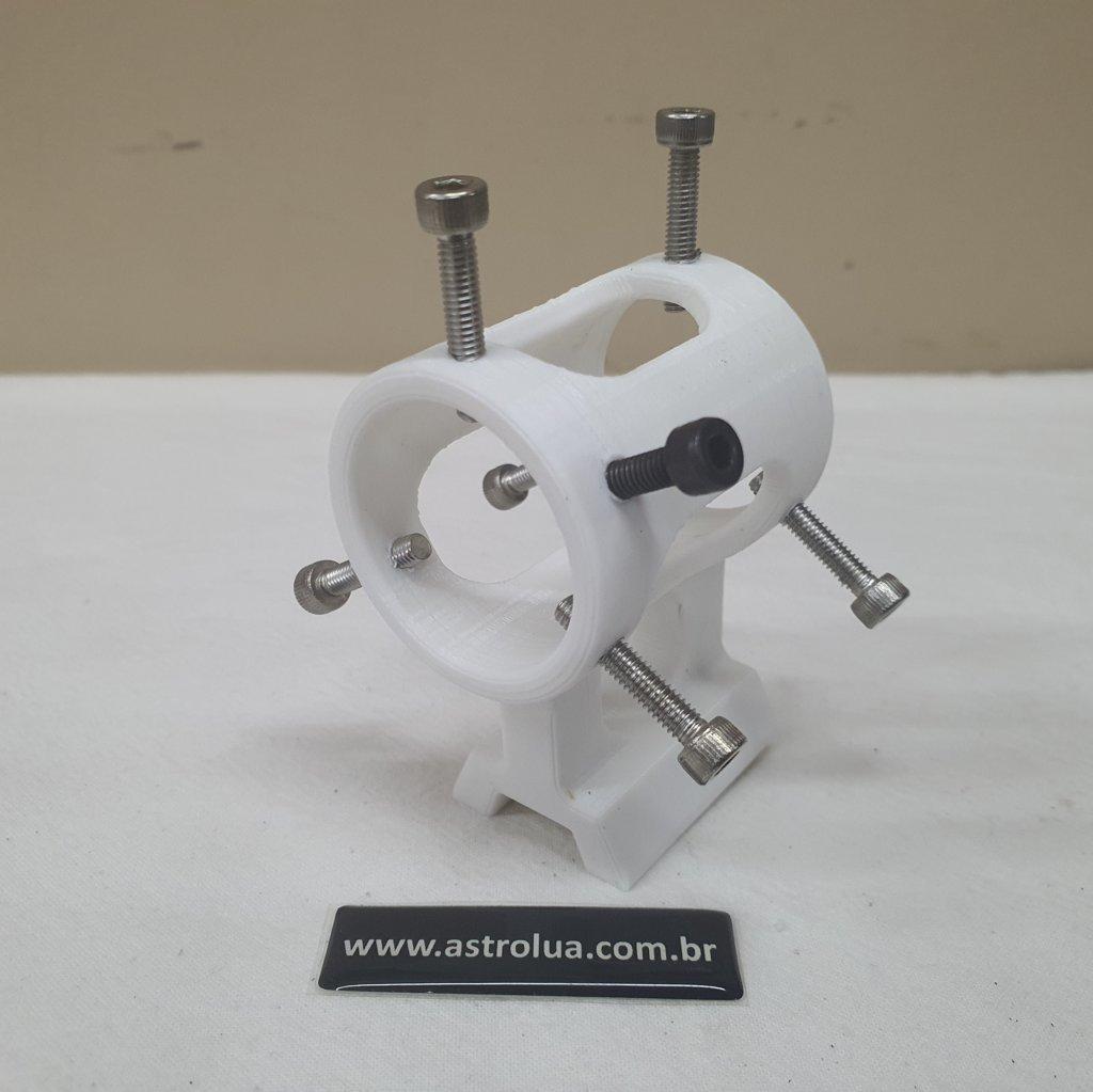 Suporte para Laser Verde - ABS 3D - Liga/Desliga - White - ASTROLUA