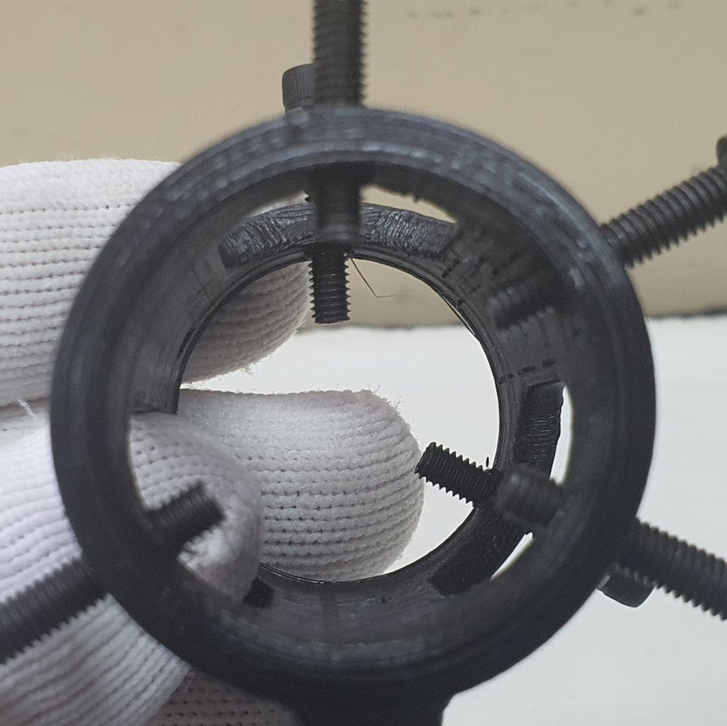 Suporte Super Laser Verde - 3D ABS - Preto - ASTROLUA