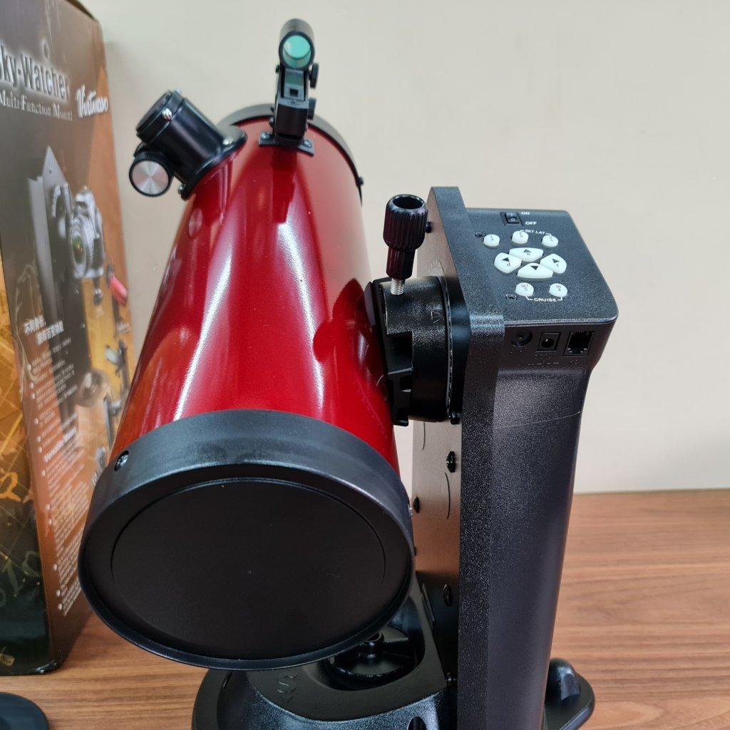 Telescópio 114mm F/4.4 Newtoniano - Virtuoso Robotizado c/ Câmera - SKYWATCHER