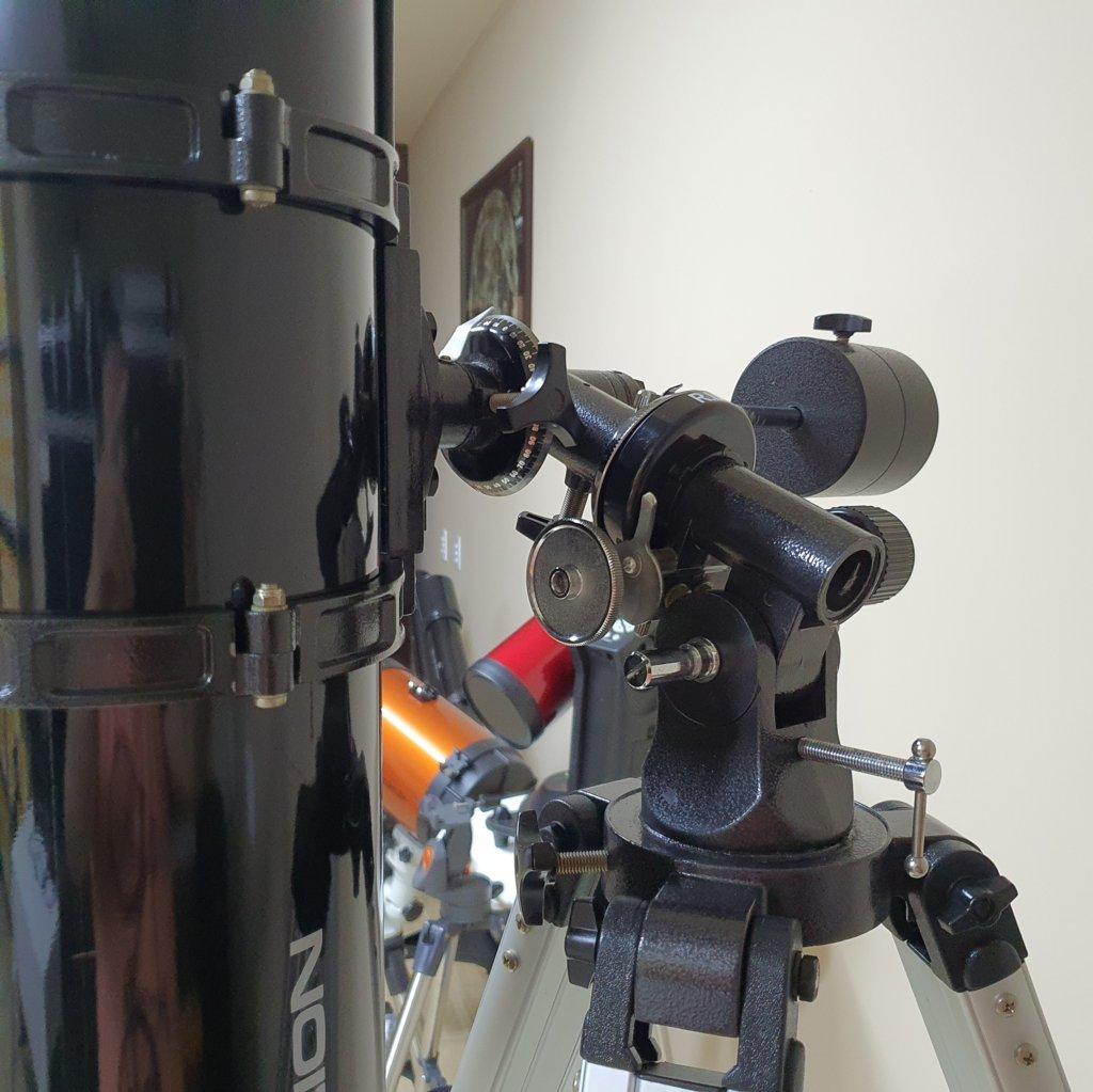 Telescópio 130mm f/7.0 Refletor Newtoniano - Equatorial II - ORION  (EUA)