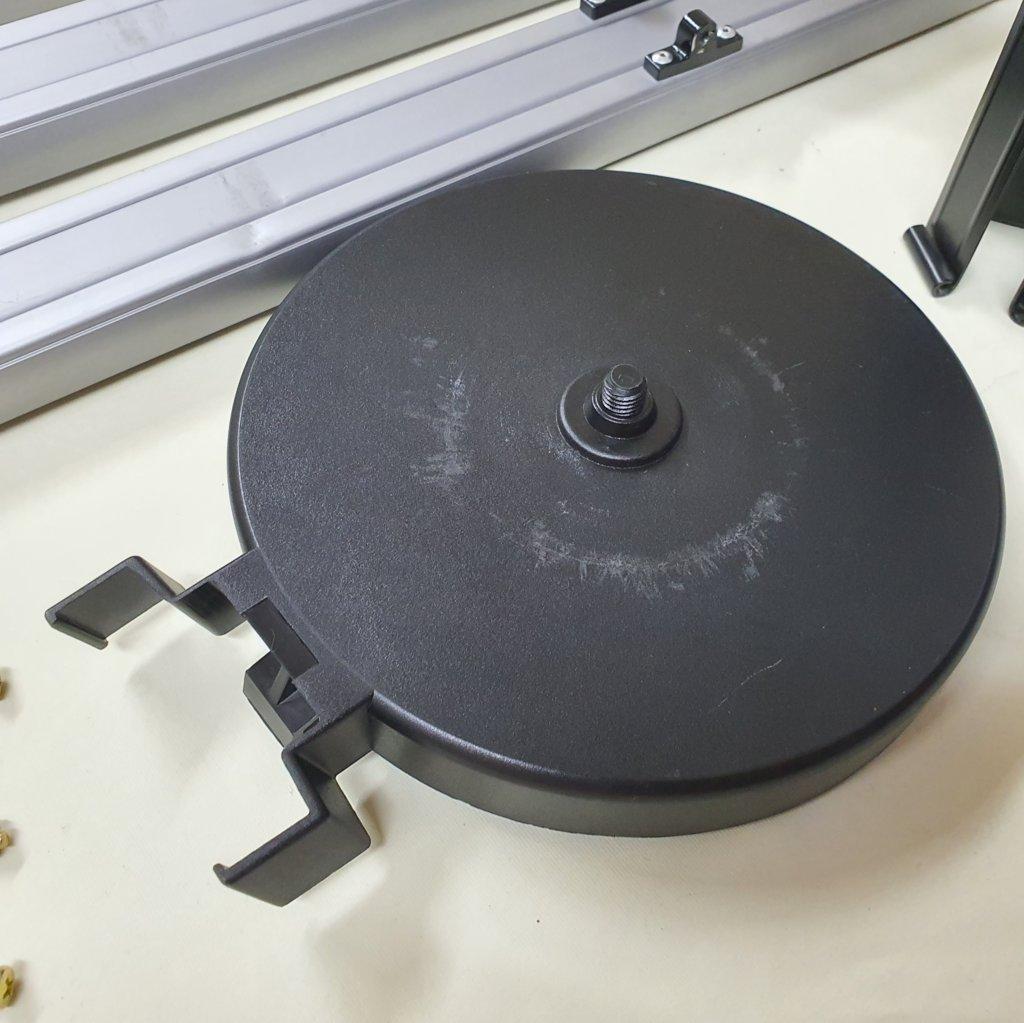 Tripé de Alumínio com bandeja + Suporte de Controle - MEADE