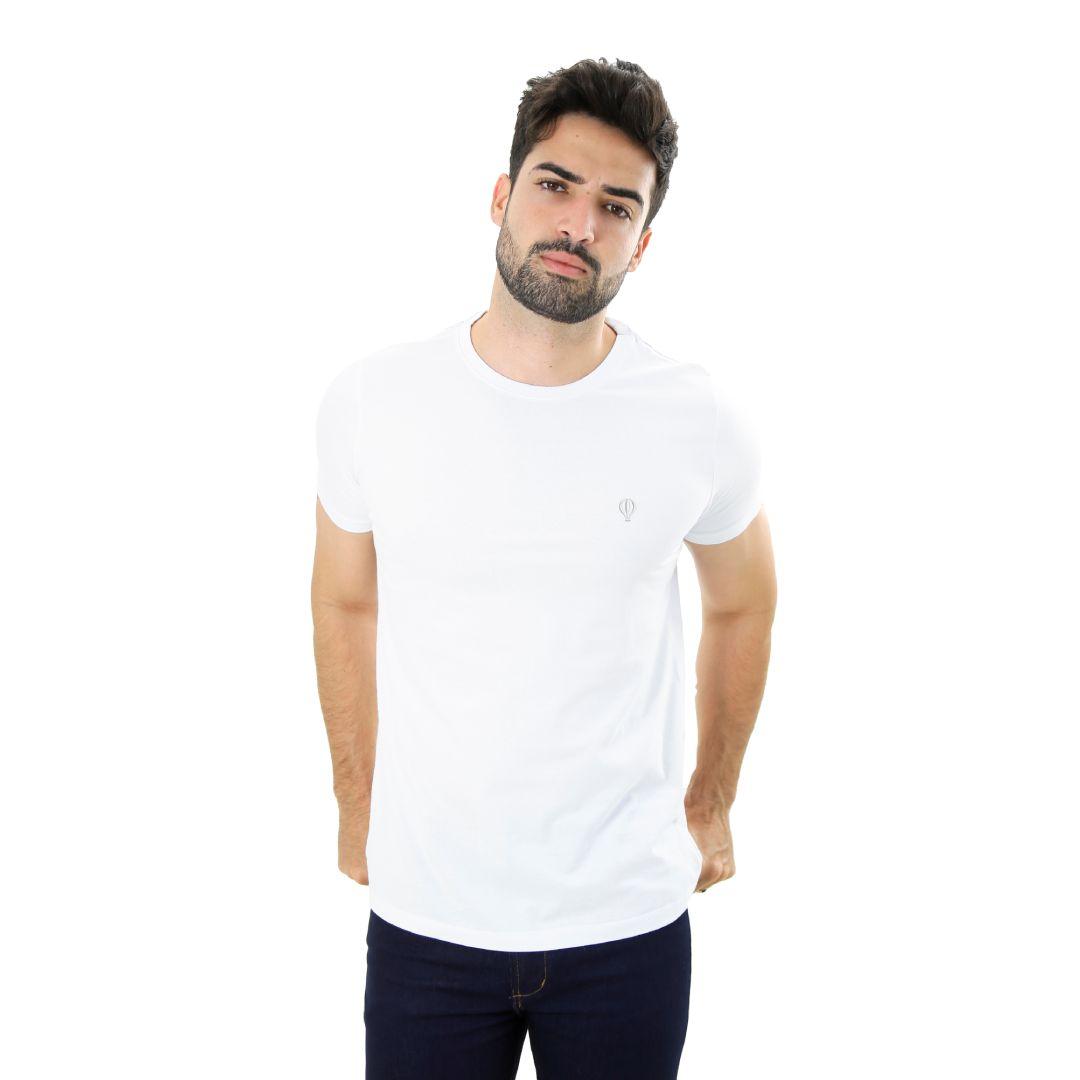 Camiseta Básica Branca - Live the Life