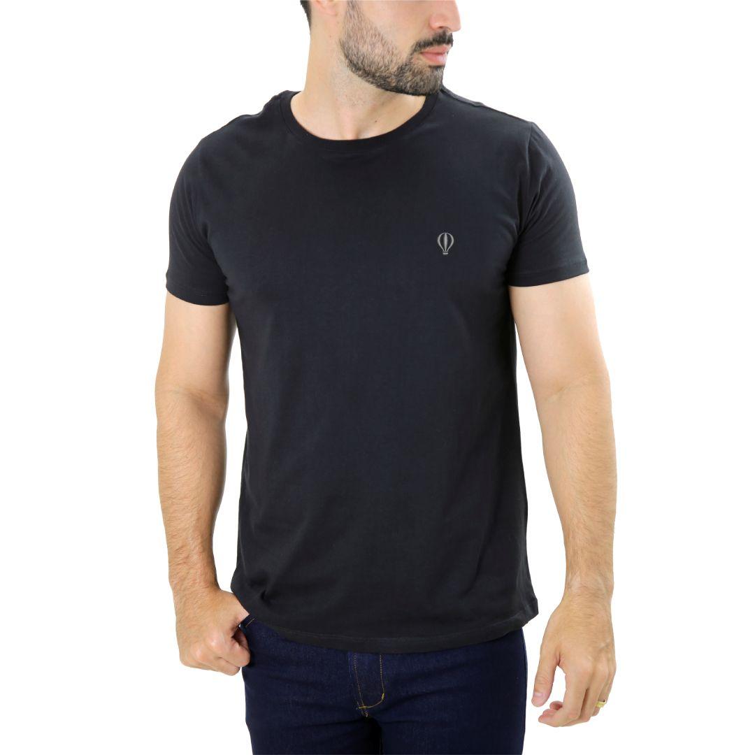 Camiseta Básica Preta - Live the Life