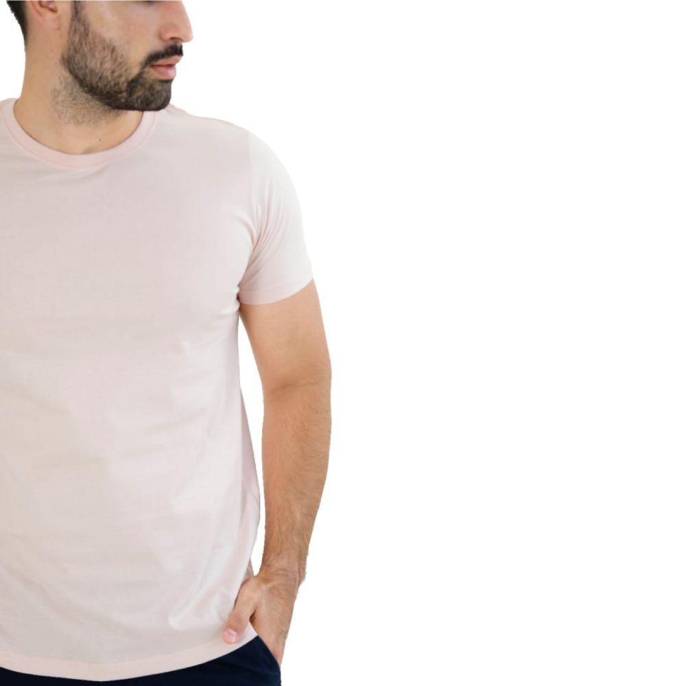 Camiseta Básica Salmão - Live the Life