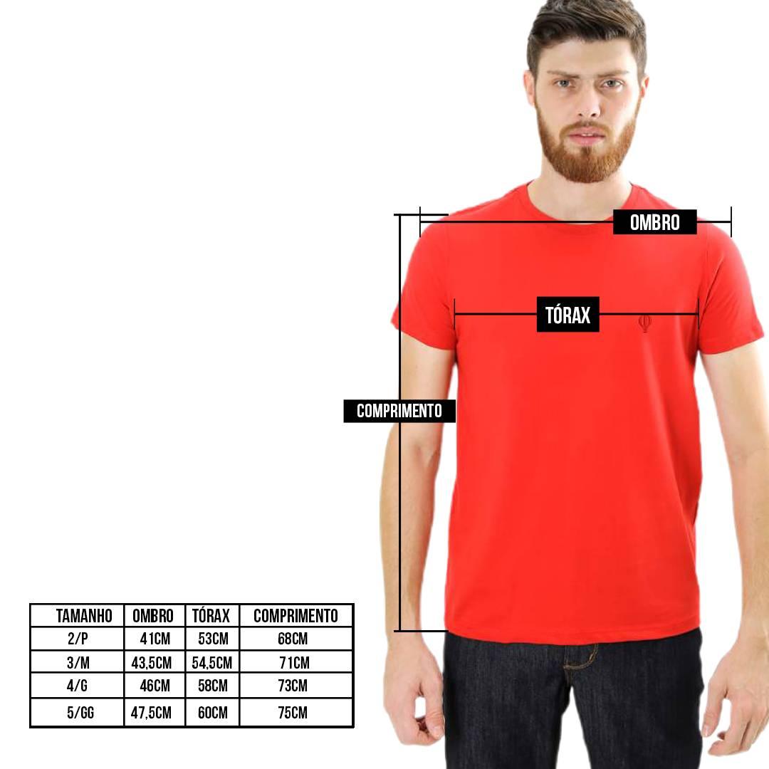 Camiseta Básica Vermelha - Live the Life