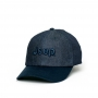 Boné Dad Hat JEEP Compass Jeans - Azul Marinho