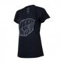 Camiseta DTG Fem. JEEP 80th Anniversary Leaf - Preta