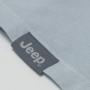 Camiseta Fem. JEEP 80th Anniversary Leaf Estonada - Cinza Claro