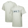Camiseta JEEP - 80th Anniversary - Badge - Cinza Mescla Claro