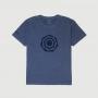 Camiseta Masc. JEEP Compass Heptagon 4x4 Lavada Estonada - Azul Marinho