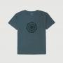 Camiseta Masc. JEEP Compass Heptagon 4x4 Lavada Estonada - Verde