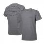 Camiseta Masc. DTG JEEP Compass Lettering - Cinza Mescla