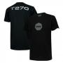 Camiseta Masc. DTG JEEP Compass T270 4x4 - Preta