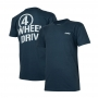 Camiseta Masc. Jeep Limited Edition Willys 4WD- Azul Marinho