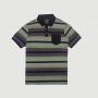Polo Especial JEEP 80th Anniversary Natural Striped - Preta