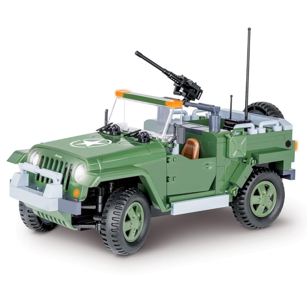 Bloco de Montar Jeep Wrangler - 250 Peças Cobi
