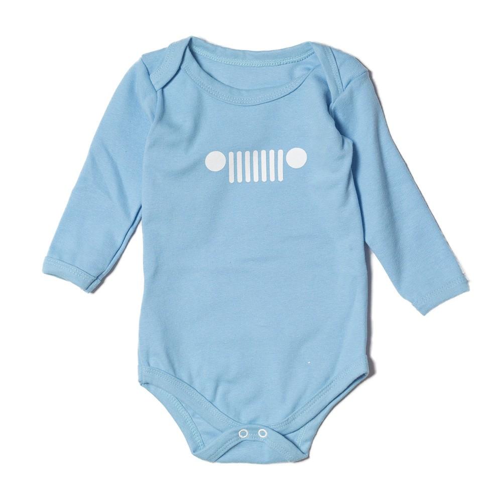 Body Bebê JEEP Grade Azul Claro
