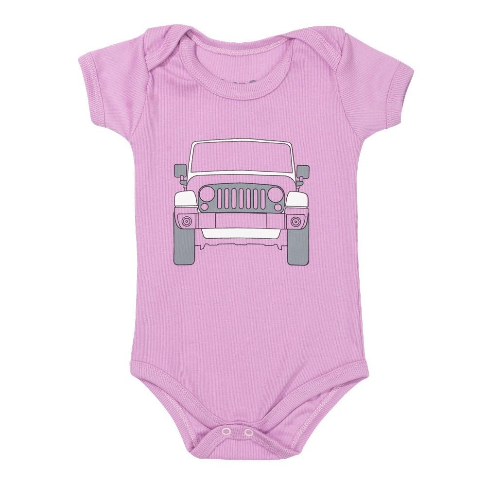 Body Bebê JEEP Wrangler Rosa Pink