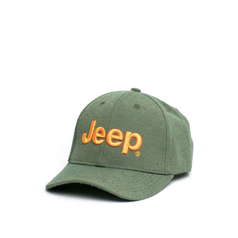 Boné Clássico JEEP Logo Bordado - Ecológico - Verde