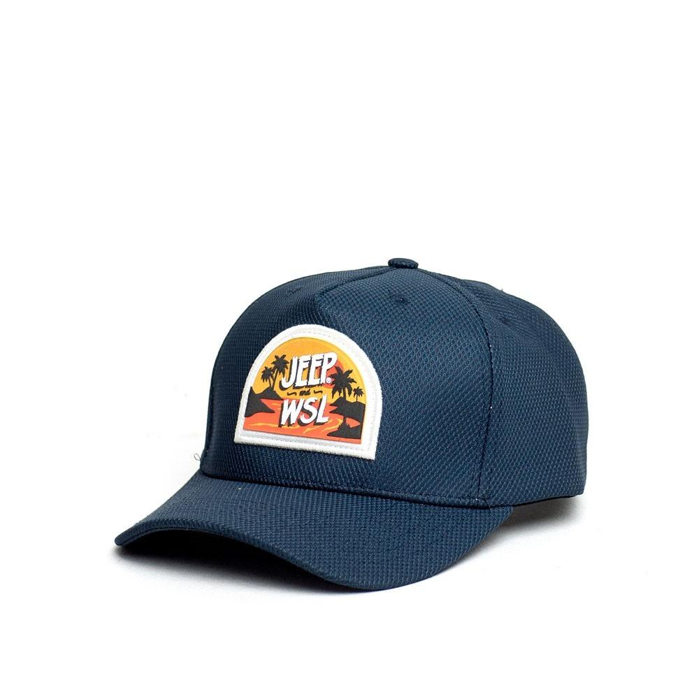 Boné JEEP e WSL Sport Island Sunset - Azul Marinho