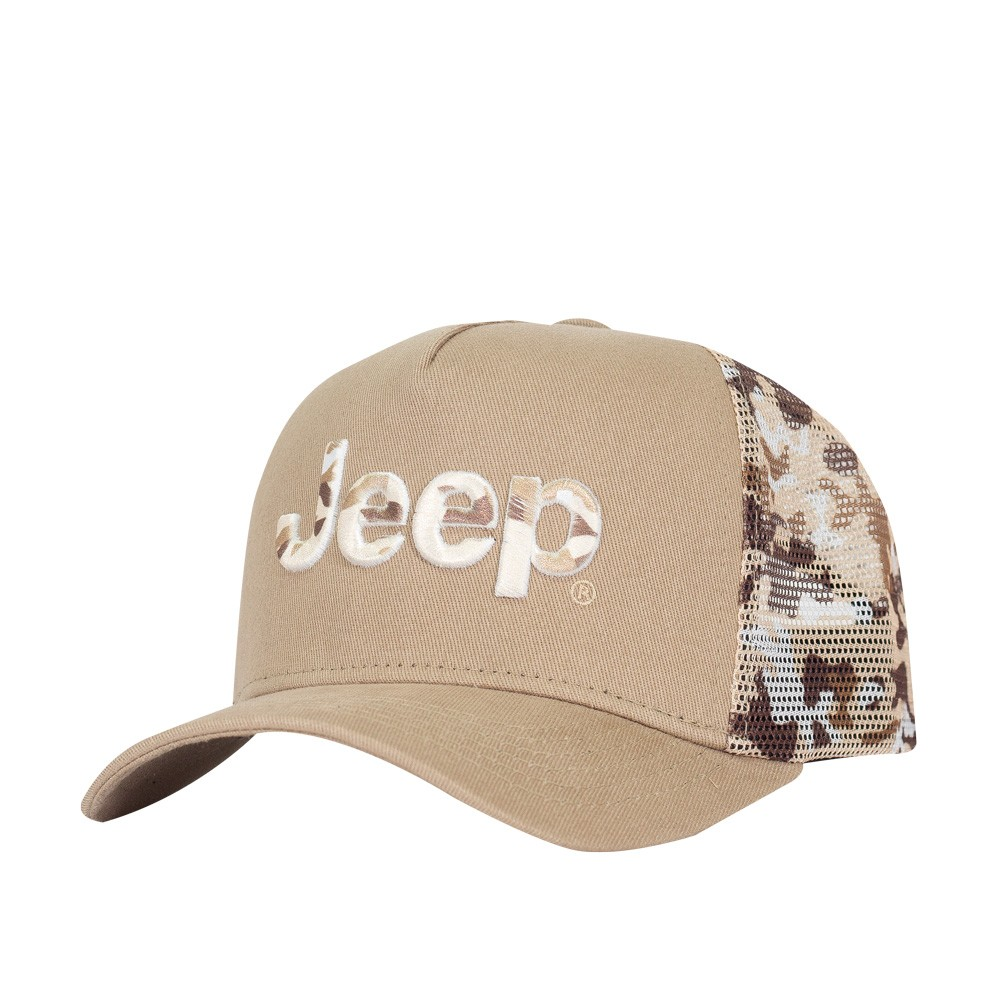 Bone Jeep Trucker Militar - Desert Storm