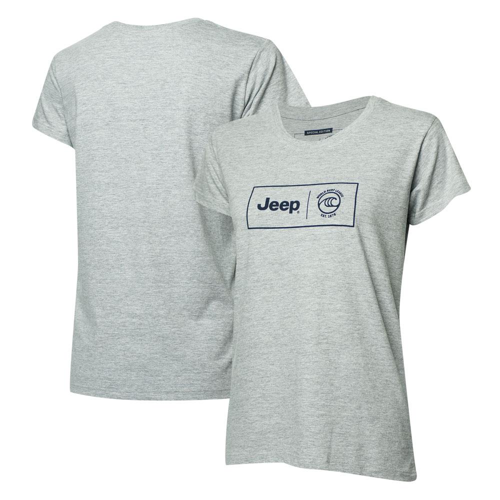 Camiseta Fem. JEEP I WSL Box Collab - Cinza
