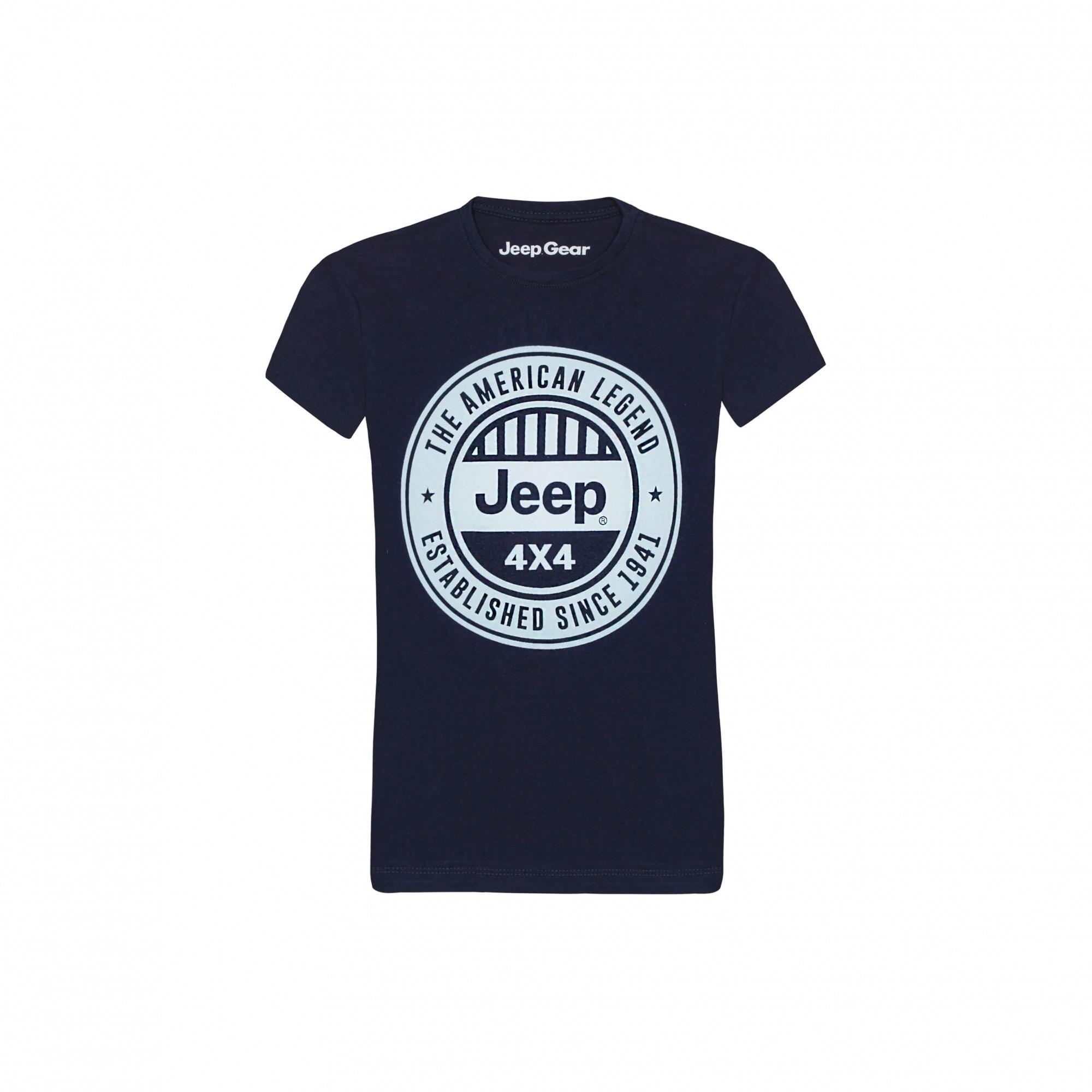 Camiseta Inf. Jeep American Legend 4x4 - Marinho