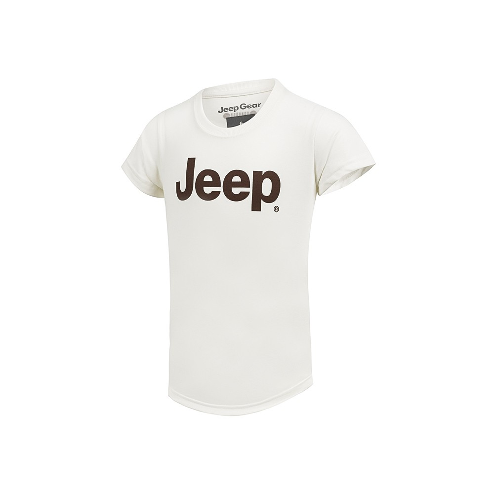 Camiseta Inf. Jeep Clássica - OffWhite